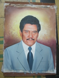 retrato cuadro padre familiar lima peru