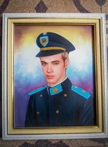 retrato joven militar